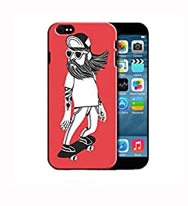 Theskinmantra Skateboarder back cover for Apple iphone 6
