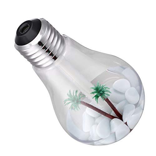 fish Forma 400ML lámpara USB humidificador atomizador de 7 Colores de luz Purificador de Ministerio del Interior del Coche Mini decoración difusor