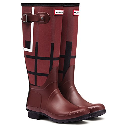 Original Schnee Tall Hunter Tartan Winter Damen Gummistiefel myN0vnPw8O