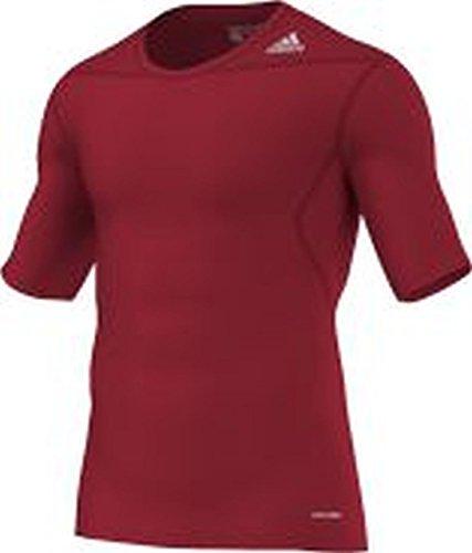 adidas Herren Techfit Base Short Sleeve T-Shirt Funktionsunterwäsch Kurzarm Shirt, X-Large BLACK