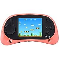 "Kids Classic Retro Handheld videoconsola consola de juegos 2,5 ""LCD 8 bits 260 en 1 juegos (Naranja)"