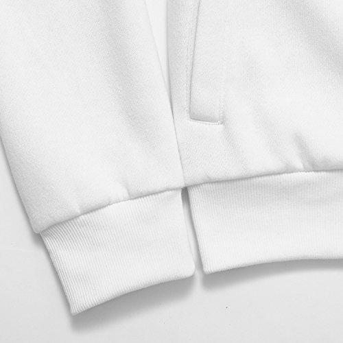 AIRAVATA Herren Sweatshirt Weiß