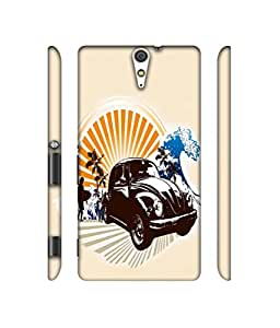 NattyCase Illustratior Art 3D Printed Hard Back Case Cover for Sony Xperia C5 Ultra Dual