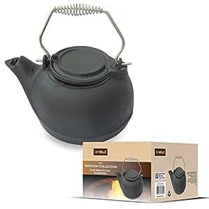 bouilloire humidificateur en fonte pour po le bois de chemin e feu de chemin e. Black Bedroom Furniture Sets. Home Design Ideas