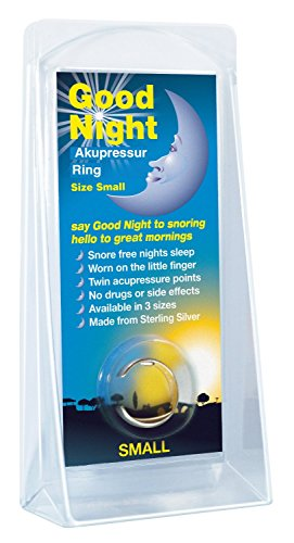 Good Night Sleep Anti-Schnarchring Akupressur-Ring (medium)