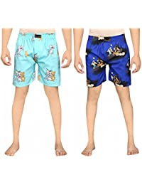 Yuvraah Men's Combo Of Tom N Jerry And Scooby Night Boxers Pack Of 2