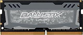 Crucial Ballistix Sport LT BLS8G4S240FSDK 2400 MHz, DDR4, DRAM, Memoria Gamer para ordenadores portátiles, 8 GB, CL16 (Gris) (B01M8LGMZ6) | Amazon price tracker / tracking, Amazon price history charts, Amazon price watches, Amazon price drop alerts