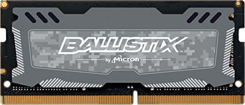 Ballistix BLS4G4S26BFSD 4 GB DDR4 2666 MT/s (PC4-21300) CL16 SR x 8 Unbuffered SODIMM 260-Pin Memory