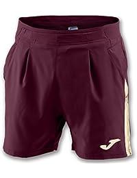 Joma SHORT GRANADA VINO (BOLSILLO) - Pantalón corto deportivo, Unisex, Granate - (VINO)