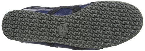 Asics Mexico 66 Vin - Sneakers basses mixte adulte Bleu (Poseidon/Dark Grey)