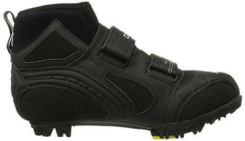 Diadora  POLARIS 2, Chaussures de cyclisme pour homme Noir - Schwarz (schwarz/silber 7870)