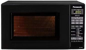 Panasonic 20 L Solo Microwave Oven Nn St266bfdg Black