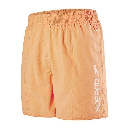 Speedo Herren Watershorts Scope 16 zoll, Orange (Fluo Orange), S
