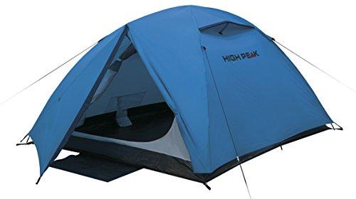 High Peak 10300 Tente dôme Mixte Adulte, Bleu/Gris, 350 x 190 x 110 cm