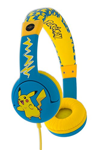 OTL Pokemon PIKACHU Children's Headphone for ages 3-7 Years Best Price and Cheapest