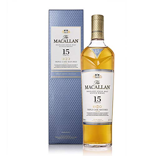 The Macallan Fine Oak 15 Ans Old Scotch Whisky, Whisky...