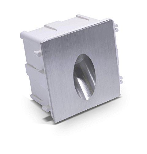 LED Foco de suelo para interior y exterior IP65en acero inoxidable pulido...
