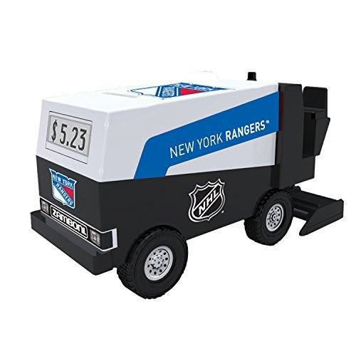 nhl-hockey-new-york-rangers-digital-electronic-zamboni-coin-counting-bank-by-nhl