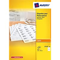 Avery Printer Labels 105x148,5 800pc(s) self-adhesive label - self-adhesive labels (105 x 148.5, 800 pc(s)) -  Confronta prezzi e modelli