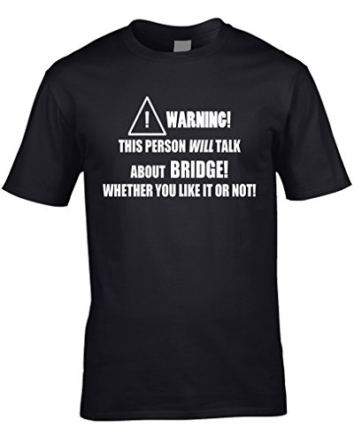 Epiphany T-shirts Bridge Mens T-Shirt Funny Hobby Statement Gift Present Card Game Sport Cards