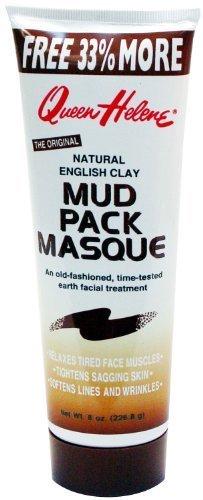 Queen Helene Masque Mud Pack Bonus 8 oz. (Pack of 2) by Queen Helene