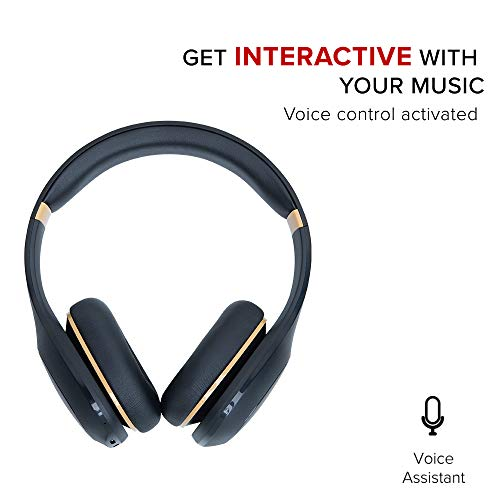 Mi Super Bass Wireless Headphones with Super Powerful bass, up to 20hrs Battery Life, Bluetooth 5.0 (Black and Gold) Image 5