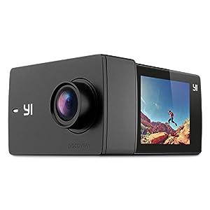 "YI Discovery Cámara de Acción, cámara deportiva 4K con pantalla táctil de 2.0 "", Wi-Fi incorporado, ángulo amplio de 150 °, sensor de imagen Sony para actividades subacuáticas y al aire libre"