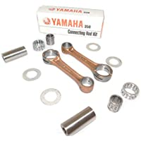ROCKSTA9 Yamaha Rd350 Oem Connecting Rod Kit With Small And Big End Needle Bearings With Gudgeon Pins & Washers (2 Kits, One Each For Both Cylinders) Gudgeon Pins Rd 350 Cafe Racer 1973-75