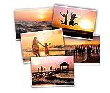 Close Up Magnetische Fototasche, Premium Kühlschrank-Fotorahmen, Bilderrahmen für Fotos & Postkarten, Fotohülle Magnet - transparent - 10x15 cm - 5er Set
