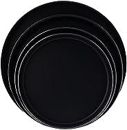طقم أطباق فرن كبه لو سبيسياليست من تيفال، من 4 قطع (28/30/34/38 سم) احمر، ألومنيوم J1326982
