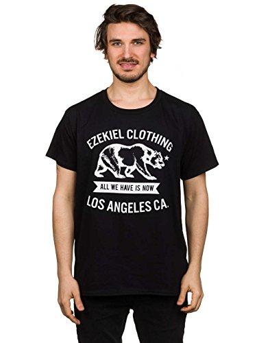 ezekiel-uomo-tshirt-col-rond-imprime-walkabout-noir-pour-homme-