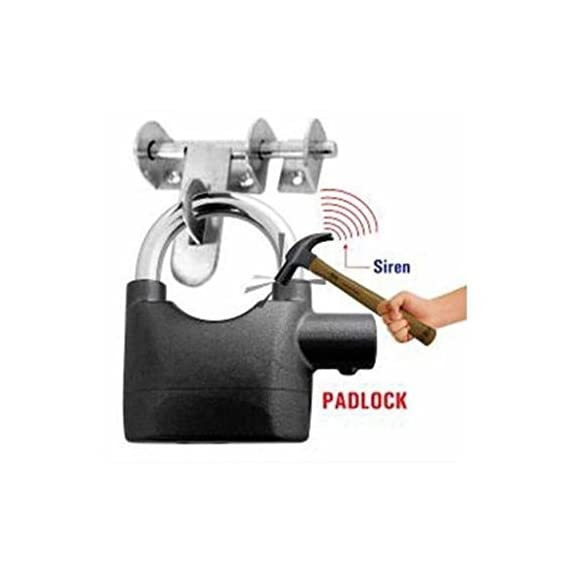 Egab Details about Anti Theft Burglar Pad Lock Alarm Security Siren Home Office Bike Bicycle Shop