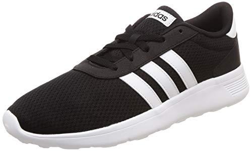 Herren Schwarze Und Weiße Schuhe - adidas Herren Lite Racer Fitnessschuhe, Schwarz
