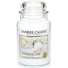 yankee candle Candela Grande Vaso, Giorno Del Matrimonio
