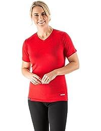 EDZ Merino Wool T-shirt Women's Red