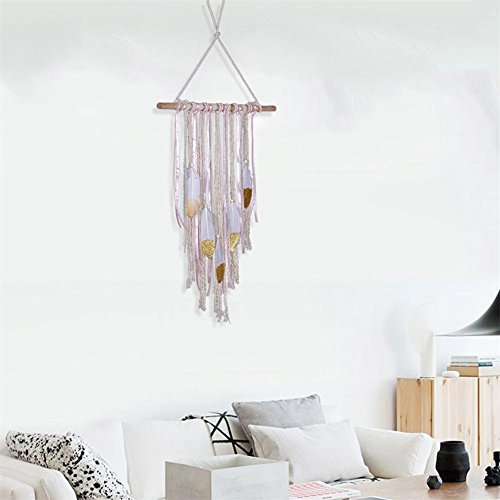 Borla Colgante Pared colgar Decoración escenarios boho Chic Home deco
