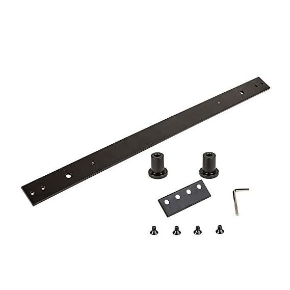 National Hardware N187-060 Sliding Door Hardware Track Extension Kit, 24, Oil Rubbed Bronze