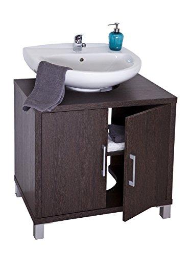 Intradisa 8915 - Mueble de baño con 2 puertas wengue