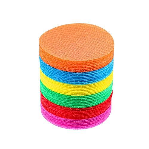 Teppich-Marker, Sport-Punkt-Kreise, Teppich-Marker, für Klassenzimmer, Teppich-Marker, Sitz-Boden, Kreispunkte, für Studenten, Kindergarten, 36/48 Stück 48