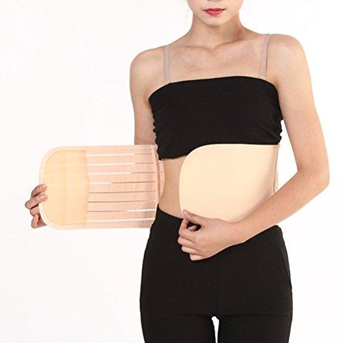ULTNICE Ceinture Respirable Récupération Post-partum ceinture de ventre de récupération pour femmes - Taille M (Couleur de la peau)