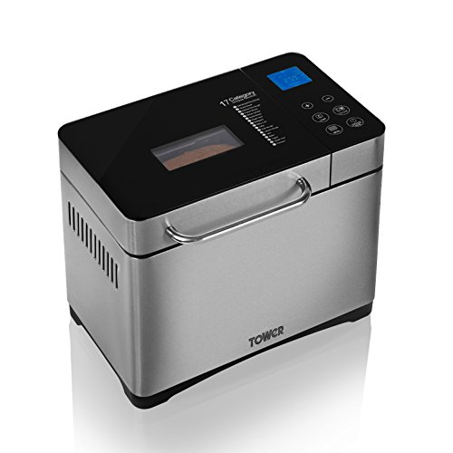 Tower Digital Bread Maker, 17 Pr...