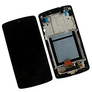 VeryDeal LCD-Display mit Digitizer und Frontrahmen für Google Nexus 5 LG D820 D821