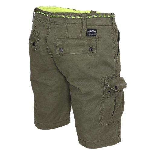 Jack jones short cargo & core comfort slim Vert - olive night (14-0014al)