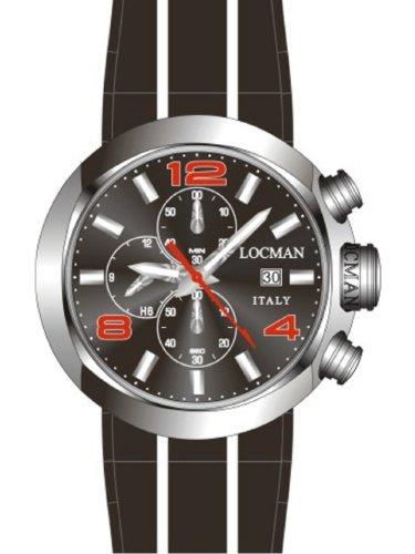 Orologio Uomo Locman Change One Sportivo Ref 420 042000BKNRD0SIK-R-K