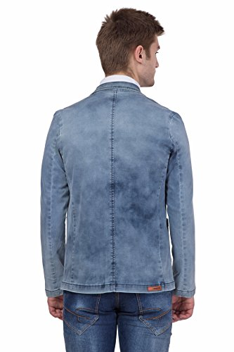Krossstitch Men s blue Color stylish Denim Blazer - Fashion Exclusives 5eb70f73dc6