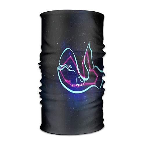 jiilwkie Glow In The Dark Unisex Sport Scarf Headbands Bandana Outdoor Sweatband Headwear