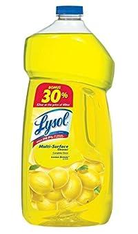 Lysol Power & Fresh Multi-Surface Cleaner, Sparking Lemon Sunflower Essence Scent, 52 Ounce