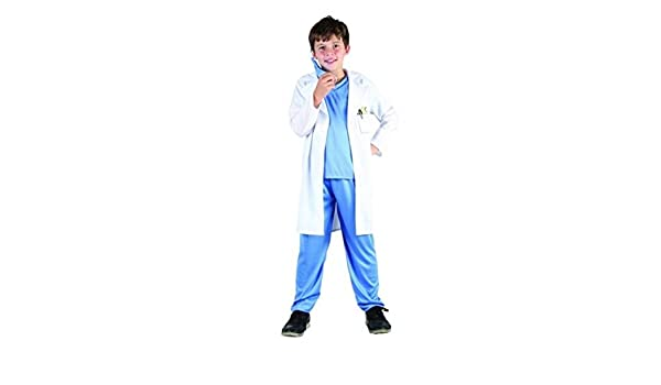 Garçons bleu chirurgien costume medical déguisement médecin costume avec stéthoscope