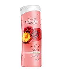 Avon Naturals Red Rose & Peach Shower Gel