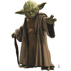 "Komar Box14721""Star Wars Yoda"" Freestyle Deco Autocollant-Neutre"